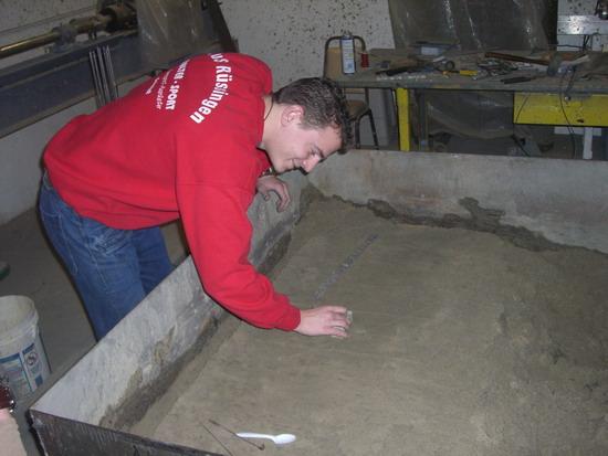 Thomas im Sandkasten