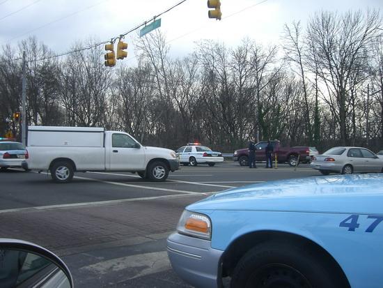 Unfall in der Nähe vom Aldi