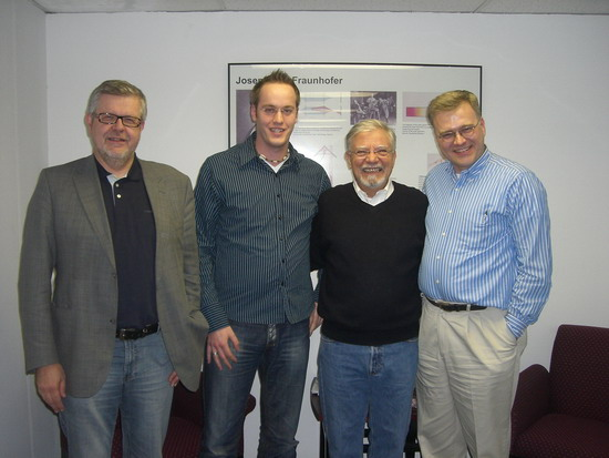 Dieter Rombach, Michael Jung, Vic Basili, Rance Cleveland