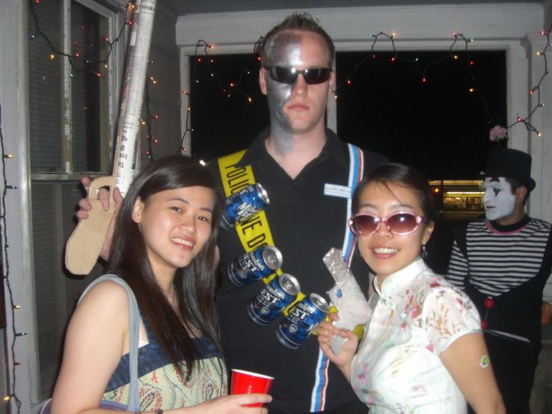 Mit Kohsin und Jane, da hatte ich auch noch meine Granaten oder Patronengurt
