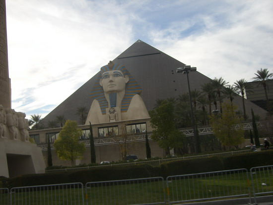 Das Luxor-Kasino in Las Vegas